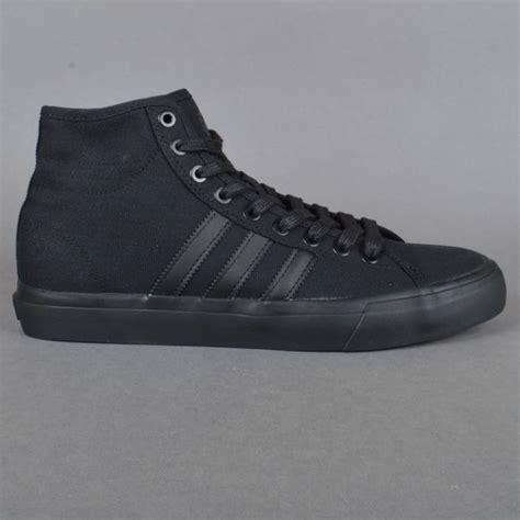 Kaos Adidas Sb Black adidas skateboarding matchcourt high rx skate shoes black black black skate