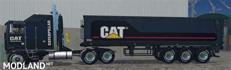 Ken Black Fs cat kenworth truck black edition fix mod for farming