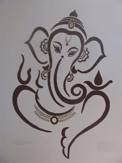 Ganesh Tattoo Stencil | stencil de ganesha buscar con google stencil