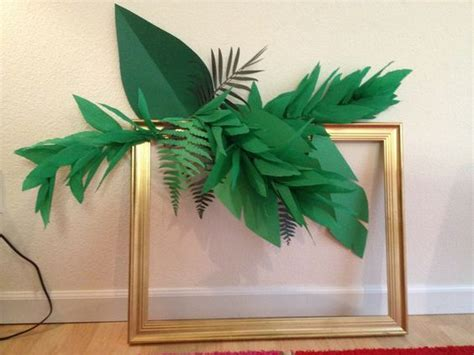 How To Make A Leaf Out Of Paper - papier cr 233 pon tropical and cr 234 pes on