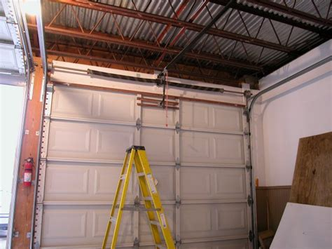 How To Install Overhead Garage Door Plaza S Overhead Garage Door Installation San Diego By Alastair Cook