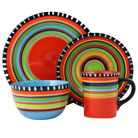 Claretta Top By Enter 8 gibson elite lewisville 16 teal dinnerware set