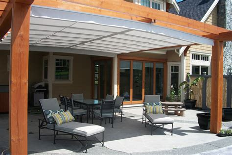 retractable pergola roof gimme shelter the shadefx retractable canopy