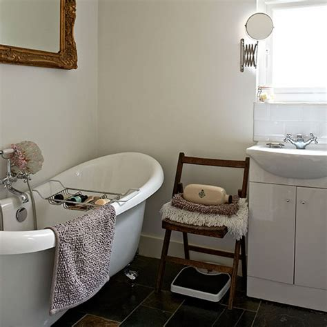 black and white bathroom bathroom design housetohome co uk white vintage bathroom with roll top bath decorating