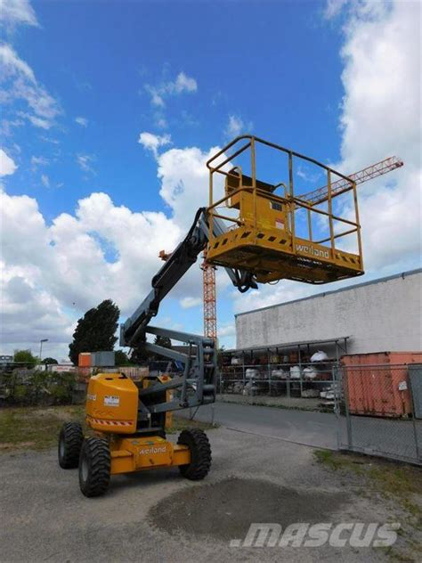 used genie z45 25 articulated boom lifts year 2002 price