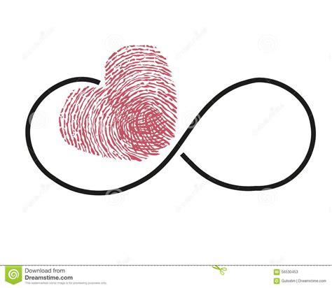 cadenas empreinte digitale prix 201 ternit 233 avec le vecteur rouge de coeur d empreinte