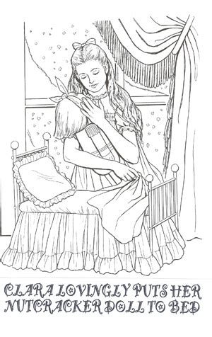 clara nutcracker coloring page untitled document dancecoperformingarts com
