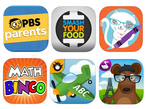 looking at learning apps in 6 educational apps for and families