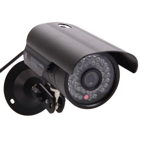 Cctv 36 Mm 1 1 3 cmos 1200tvl 6mm 36 led outdoor waterproof infrared security ntsc black alex nld