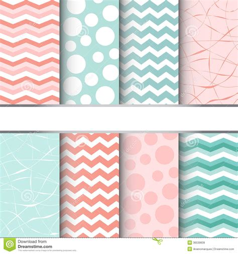 Seamless Patterns With Gingham Polka Dot Iphone Semua Hp set of seamless patterns stock vector image of repeat 36539839