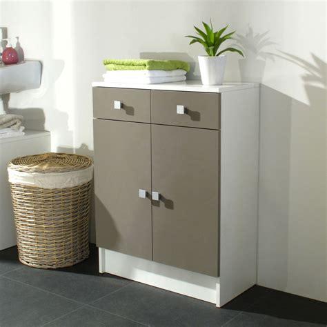 meuble bas salle de bain avec tiroir