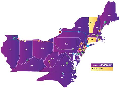 zpass  york participating toll facilities
