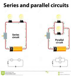 series and parallel circuits stock vector image 67662763