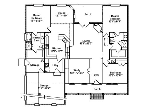 southern style floor plans 15 unique southern style home floor plans building plans 4140