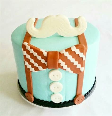 Bow Tie Baby Shower Cake by Mustache Cake Bow Tie Suspenders Buttons Boy Baby