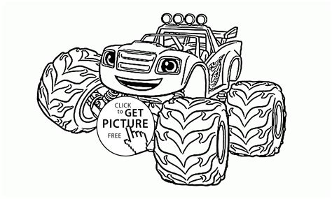 blaze monster truck coloring page monster truck coloring pages blaze