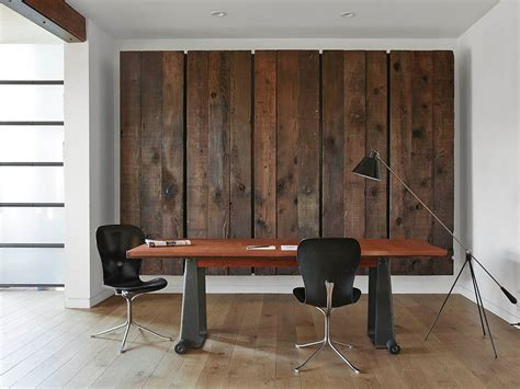 pictures for office walls 25 ingenious ways to bring reclaimed wood into your home