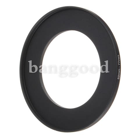 Jc02 52 77mm Step Up Ring 52mm 77mm step up filter ring 52 77 mm stepping adapter