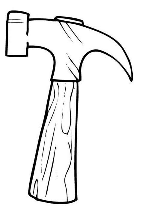 imagenes infantiles herramientas dibujos infantiles para colorear un martillo animado imagui