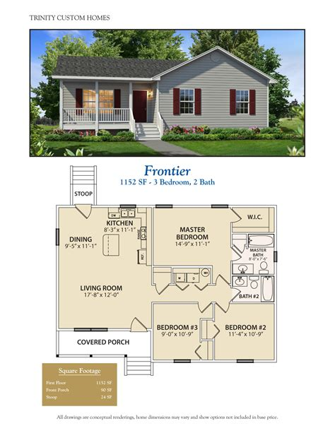 custom small home plans floor plans trinity custom homes georgia