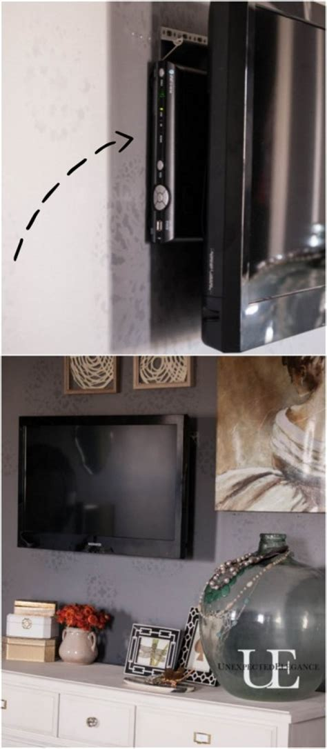 ways to mount a tv how to mount a tv and hide the cords