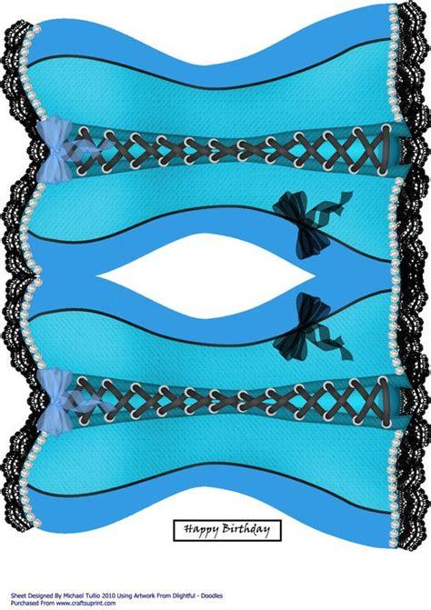 Corset Templates Cards by Corset Tarjeteria Arte En Papel Y