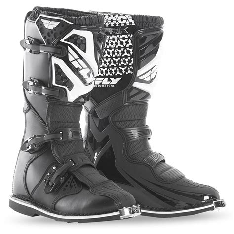 fly motocross boots maverik youth black boot fly racing motocross