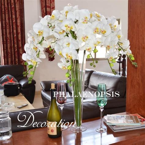 Wedding Table Flowers Artificial Flowers White Butterfly Artificial Flowers For Dining Table