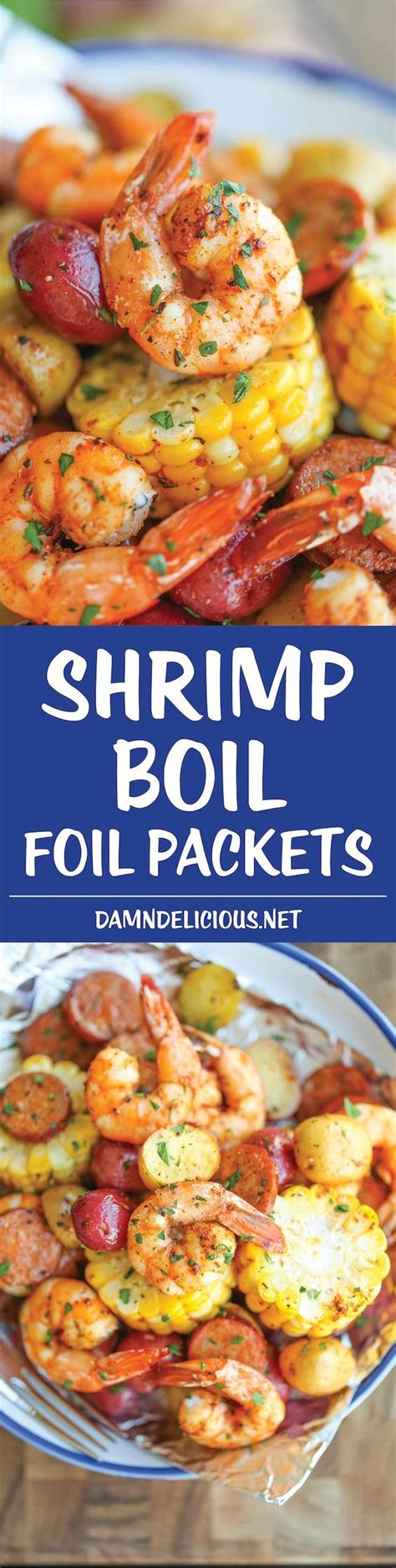 shrimp boil foil packets recipe smoked sausages healthy and sausages