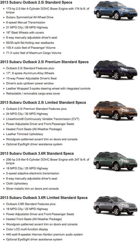 subaru outback model years renick subaru new subaru dealership in fullerton ca 92832