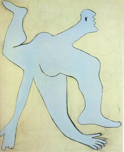 Picasso L by Pablo Picasso L Acrobate Bleu