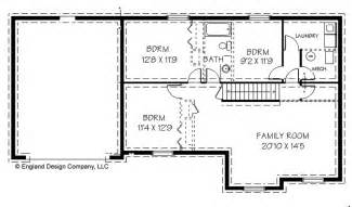 house plans basement unique house plans with basement 8 simple house plans with basements smalltowndjs