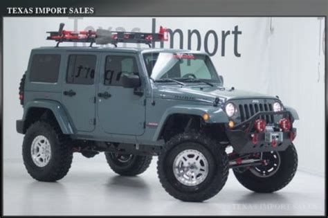 Moab Industries Jeep For Sale Sell New Moab Industries 2014 Wrangler Rubicon Unlimited 8
