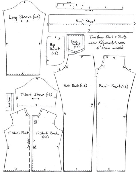 clothes pattern maker online diy how to make doll joggers handmade clothes
