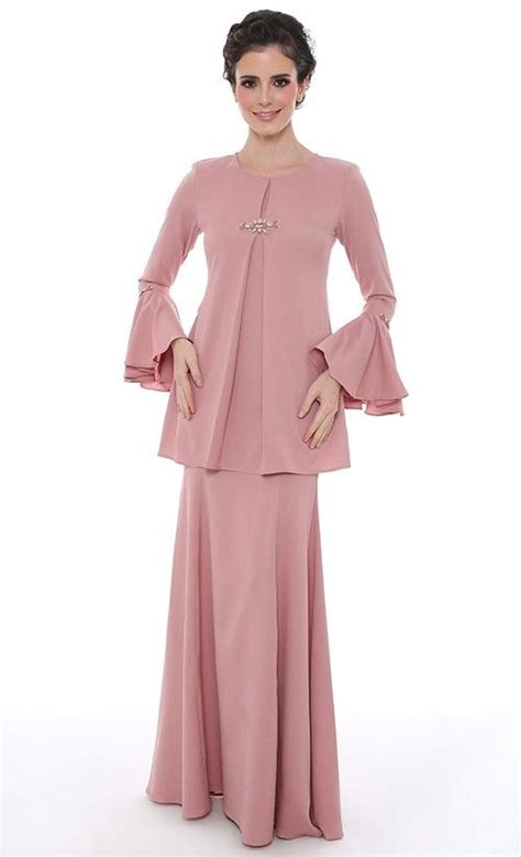 Set Floria Dusty Pink Kebaya Kain Kutubaru Kebaya Modern Kain Lilit 310 best images about baju kurung moden kebaya on discover more ideas about lace