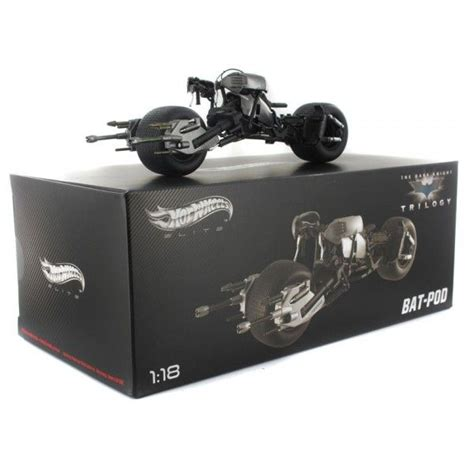 Diecast Hotwheels Batman Bat Pod Ah183 batman the trilogy wheels elite scale 1