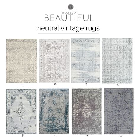 Neutral Kitchen Rugs Neutral Vintage Area Rugs A Burst Of Beautiful