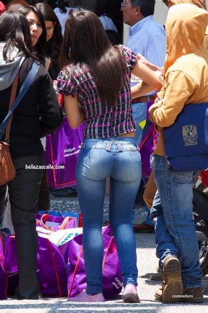 imagenes de mujeres hermosas y culonas chicas culonas en jeans ajustados