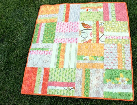 Easy Quilt For Beginners mei mei fabrics beginner simple stripes quilt tutorial by