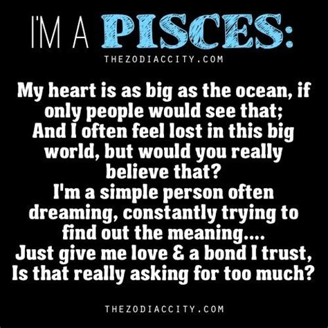 pisces astrology personality pinterest