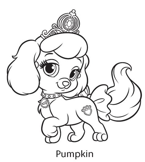 coloring pages of palace pets palace pets coloring pages