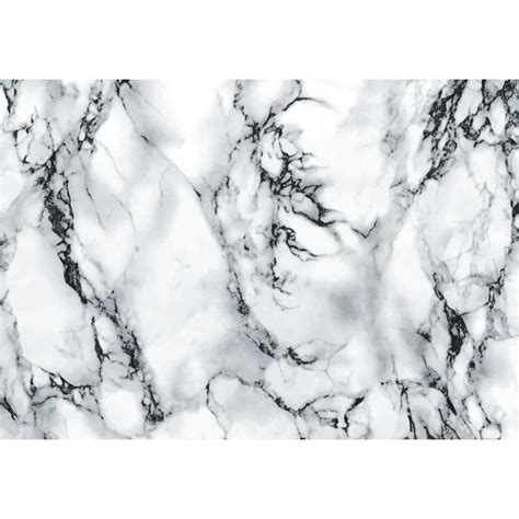 Wallpaper Self Adhesive by D C Fix Marble Grey 26 In X 78 In Home Decor Self