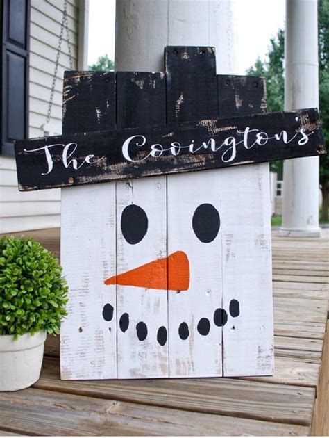 pinterest christmas made out of tulldecorating ideas adorable handmade personalized snowman yard made out of a pallet decor