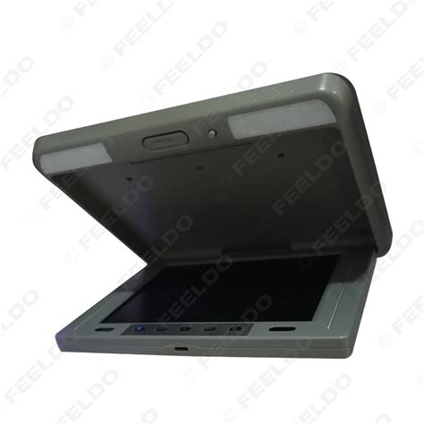 Lcd Monitor Roof feeldo car accessories official store 12 1 quot flip tft lcd monitor car monitor roof