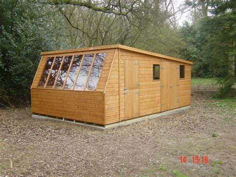10x18 Shed by Solar Potting Shed 10x18 In Shiplap With Workshop