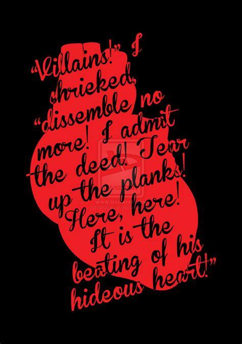 edgar allan poe biography the tell tale heart tell tale heart edgar allan poe quotes quotesgram