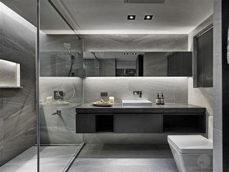 Modern Gray Bathrooms by Best 25 Grey Modern Bathrooms Ideas On Modern