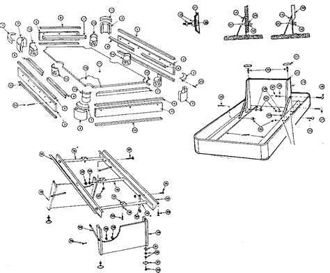 pool table parts diagram sears home pool table parts model 527257081
