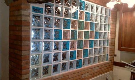 pareti in vetrocemento per interni migliori mattoni in vetrocemento materiali in edilizia
