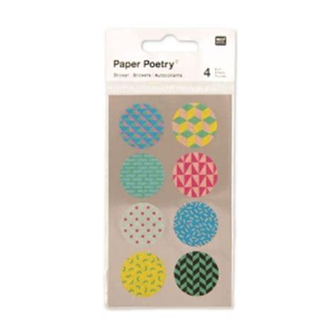 Aufkleber Rund 25mm by Aufkleber Paper Poetry Rund Aus Washi Papier 25 Mm Bunt